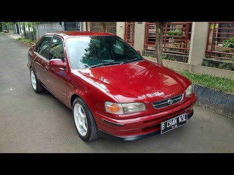 In Depth Tour Toyota All New Corolla S.Cruise AE111 (1996) - Indonesia