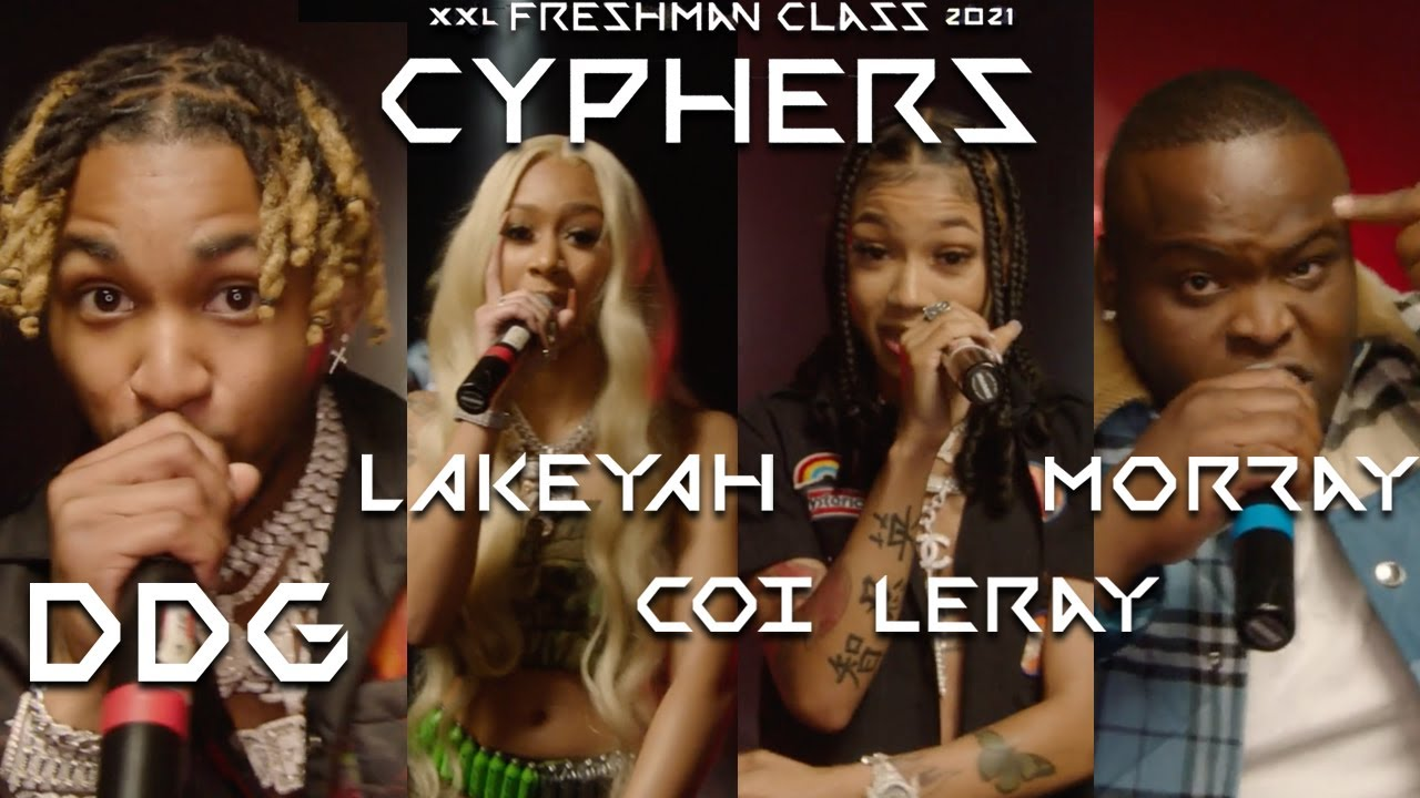 Download DDG, Lakeyah, Morray and Coi Leray's 2021 XXL Freshman Cypher