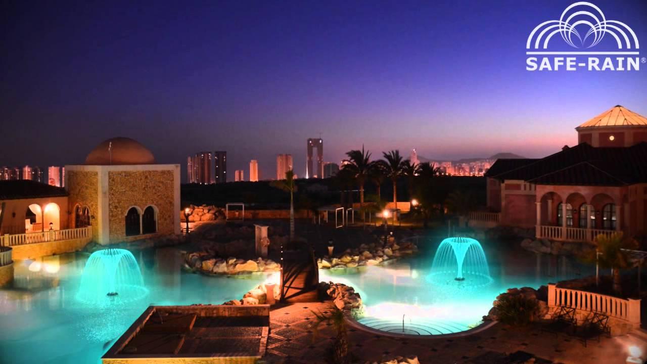 Swimming pool fountains fuentes flotantes para piscinas youtube - Fuentes para piscinas ...