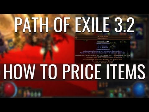 Path of Exile: Bestiary League 3.2| How to price rare items & uniques.