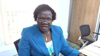 Homa Bay County First Lady Mrs. Rocila Awiti during the County first ladies association meeting