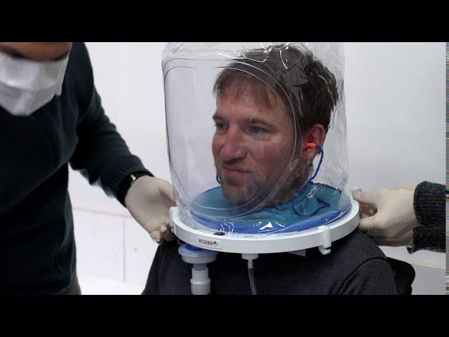 Covid-19: Ecleris obtuvo aprobación de casco para ventilación no invasiva