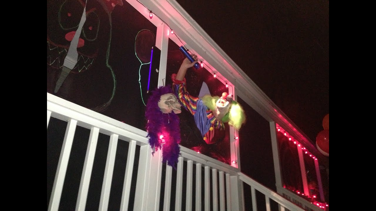 Psycho Clown House - San Carlos California Halloween 2012 Holiday Lane & Psycho Clown House - San Carlos California Halloween 2012 Holiday ... azcodes.com