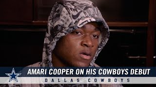 Amari Cooper: On His Cowboys Debut | Dallas Cowboys 2018