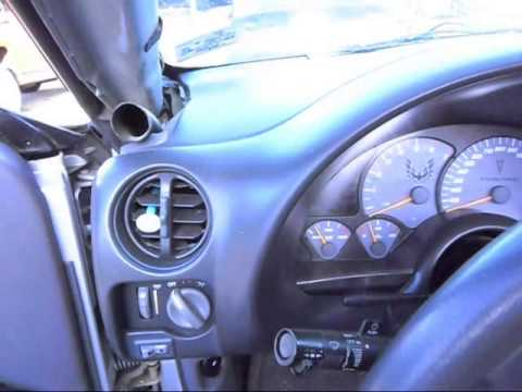How To Install A Dash Cap On A 1993-2002 Camaro Z28 Or Firebird Trans Am.