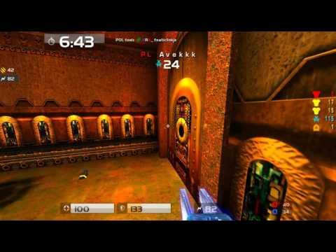 Quake Live: ASUS ENC'10 - FRA vs POL - POV spec - map2