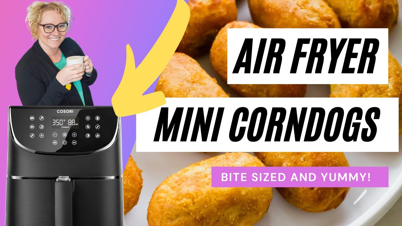 AFE Air Fryer Mini Corn Dogs (plus time and temp)