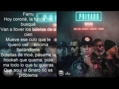 PRIVADO - Arcangel Ft Nicky Jam, Farruko, Konshens, Rvssian