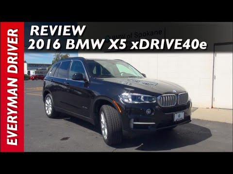 Review: 2016 BMW X5 xDrive40e Plug-In-Hybrid on Everyman Driver