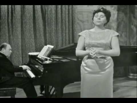 """Christa Ludwig sings """"Der Tod und das Mädchen"""" by Schubert"""