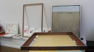 How to Build a Float Frame + a look at some things in the studio