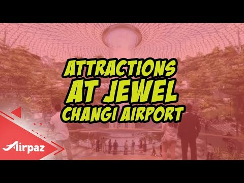Attractions You Can See at Jewel Changi Airport