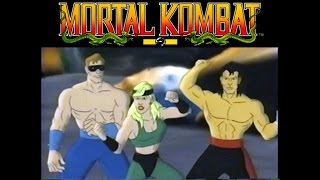 Mortal Kombat   The animated video - The journey begins (1995)