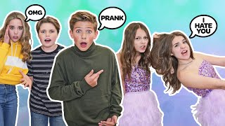 ARGUING IN FRONT OF OUR FRIENDS PRANK With my CRUSH **Fashion Nova**| Walker Bryant, Piper Rockelle