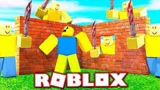 BUILD TO SURVIVE JOHN DOE IN ROBLOX!