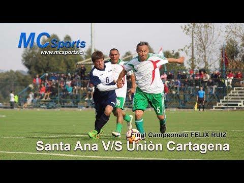 FINAL SUPER SENIOR 2018 ,SANTA ANA V/S  UNION CARTAGENA