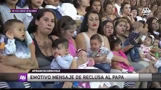 Mensaje de reclusas chilenas al Papa Francisco