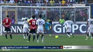أهداف مبارة غانا 6-1 مصر HD لقاء الذهاب تصفيات كاس العالم 2014