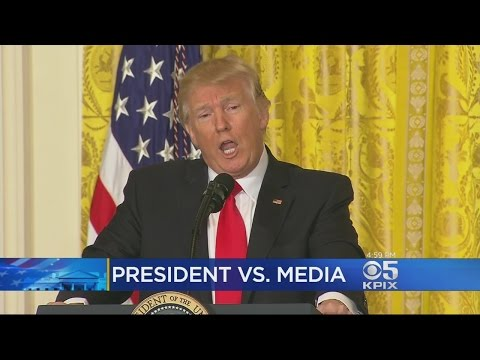 President Trump Gripes About 'Unfair' Media Coverage Of Administration During Press Conference