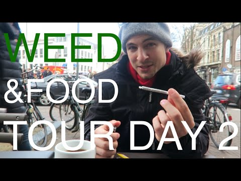 WEED & MUNCHIES IN AMSTERDAM 😎 ☁️ #EuroweekDAY2 Travel Vlog