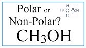 Is Ch2o Polar Or Nonpolar Youtube