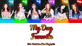 Favorite (페이버릿) -  My Day  [Color Coded Han|Rom|Eng Lyrics]