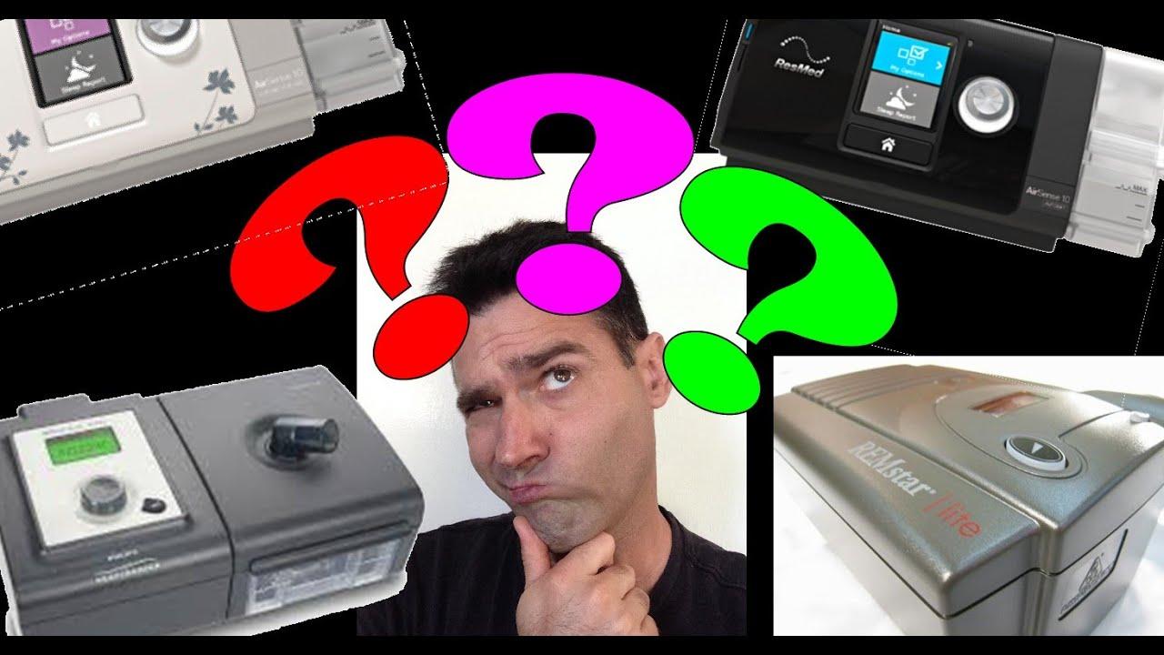 bipap versus cpap machine