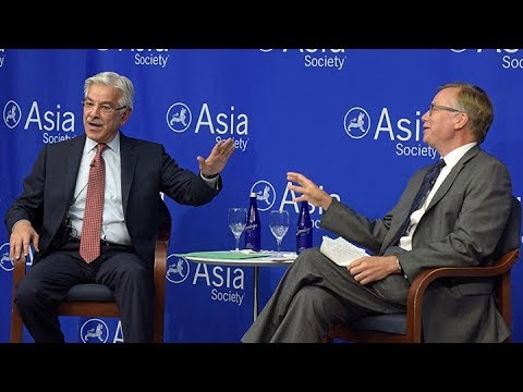 Islamic Republic of Pakistan: Foreign Minister Khawaja Muhammad Asif