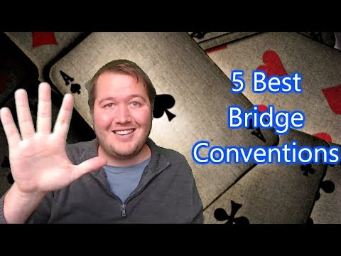 5 Best Bridge Conventions
