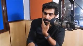 Rana Daggubati Reveals His First Crush   Exclusive