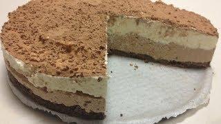 Triple Chocolate Cheesecake - No Bake Recipe