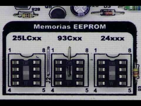 Programador USB de memorias EEPROM y PIC