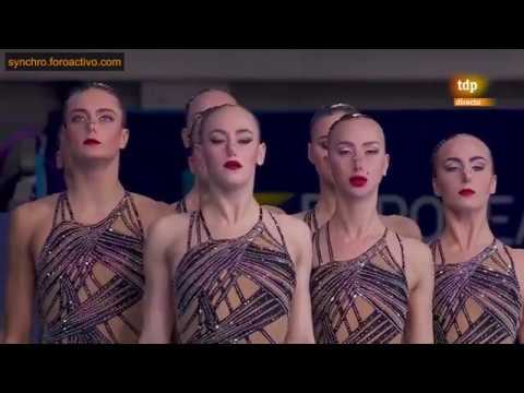 Russian Federation (RUS) Team Technical Final Glasgow Europe