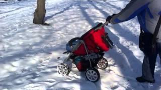 Zekiwa Spider GT vs SNOW