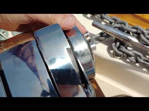 Salty Quicky #196 - Turn Off Free-Fall On Lewmar Pro-Fish  700 Windlass