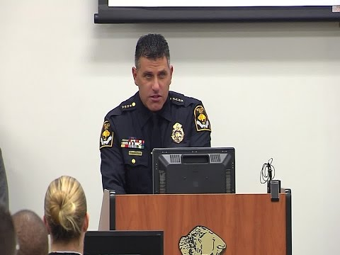 RAW: Omaha Police Chief Todd Schmaderer welcomes new recruit class