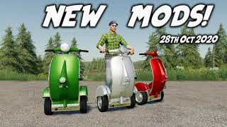 NEW MODS Farming Simulator 19 PS4 FS19 (Review) 28th Oct 2020.