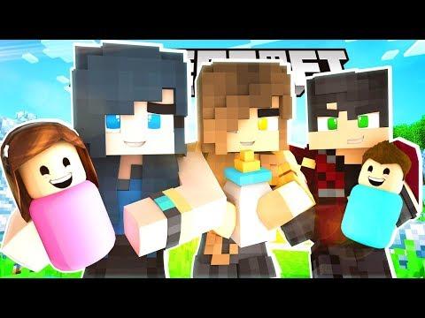 WE ADOPT OUR FIRST BABIES!!   Krewcraft Minecraft Survival   Episode 4