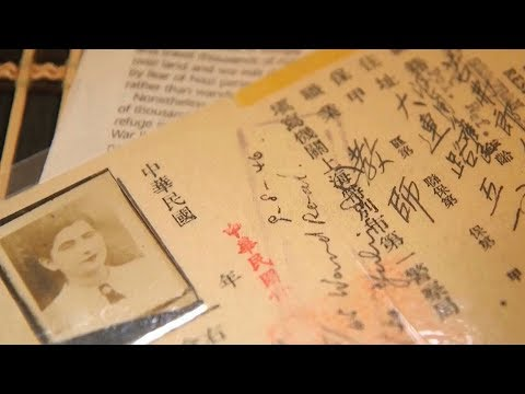 "Jewish refugee born in ""Shanghai..."