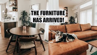 Getting Our Furniture! Home Vlog