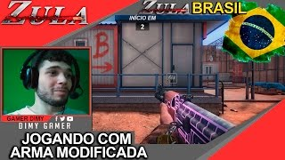 ZULA BRASIL: DEFUSE COM  ARMA (AK +4) (DESERT +5) MODIFICADA