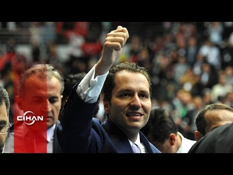 Fatih Erbakan SP 5. Olagan Büyük Kongresine geldi