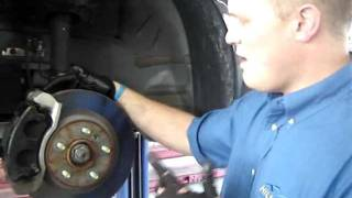Your Car Brakes And Vehicle Braking System: Hillside Tire & Auto Repair Service Salt Lake City
