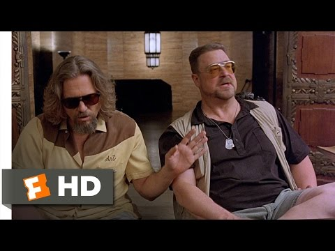 The Big Lebowski - The Bereaved Scene (11/12) | Movieclips