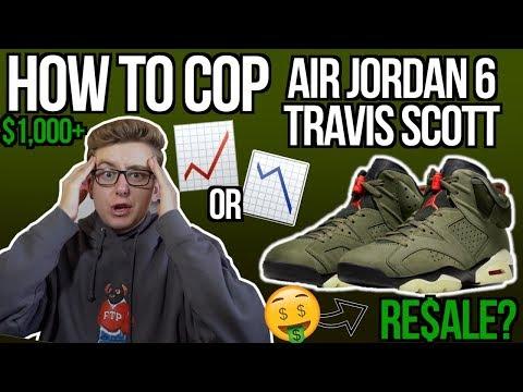 how-to-buy-travis-scott-x-air-jordan-6-&-apparel-collection!- -resale-predictions!- -shock-drop!