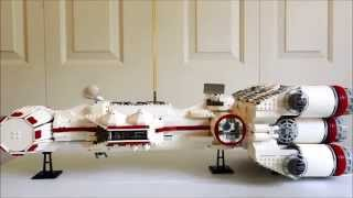 Lego Tantive IV (Rebel Blockade Runner) 10019 Review