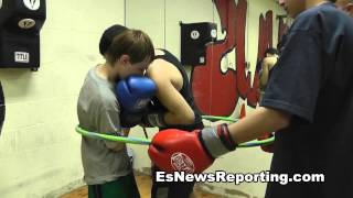 drill for fighting on the inside - EsNews Boxing