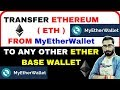 How to Transfer Ethereum From MyEtherWallet to Any other Exchange | What is Gas Limit, Gas Price ?