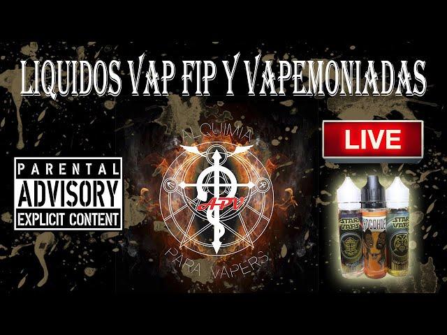 APV 198 - Revisión líquidos YoVap y Vap Vider  de Vap Fip y Chocohuete de Vapemoniadas