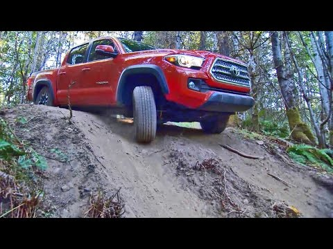 2016 Toyota Tacoma 4x4 TRD Off Road Double Cab Long Bed - Footage
